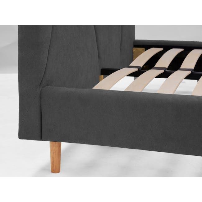 Kieran Queen Bed - Onyx Grey - 10