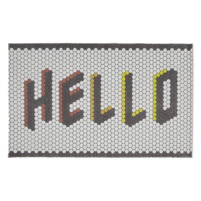 Noje Noodle Door Mat - Hello Tiles - 0