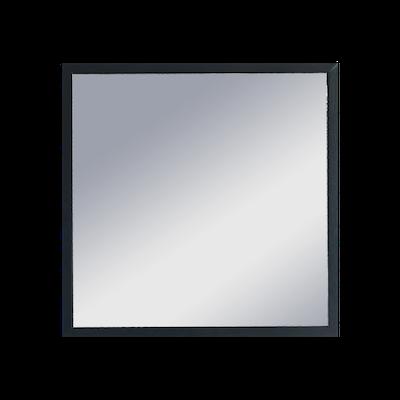Hosta Square Mirror 40 x 40 cm - Black - Image 2
