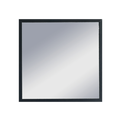 Hosta Square Mirror 40 x 40 cm - Black - Image 1