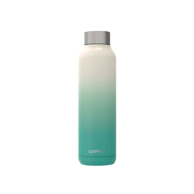 Quokka Stainless Steel Bottle Solid - Seashore 630ml - 0
