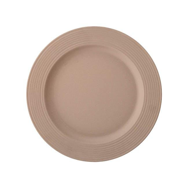Rhea Dinner Plate - Brown (Set of 6) - 1