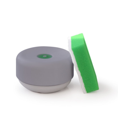 Instant Soap Dish Dispenser with Non-Slip Base - Grey - Image 2