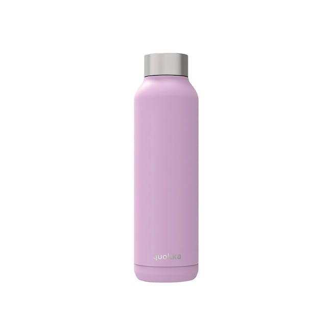 Quokka Stainless Steel Bottle Solid - Lilac 630ml - 0