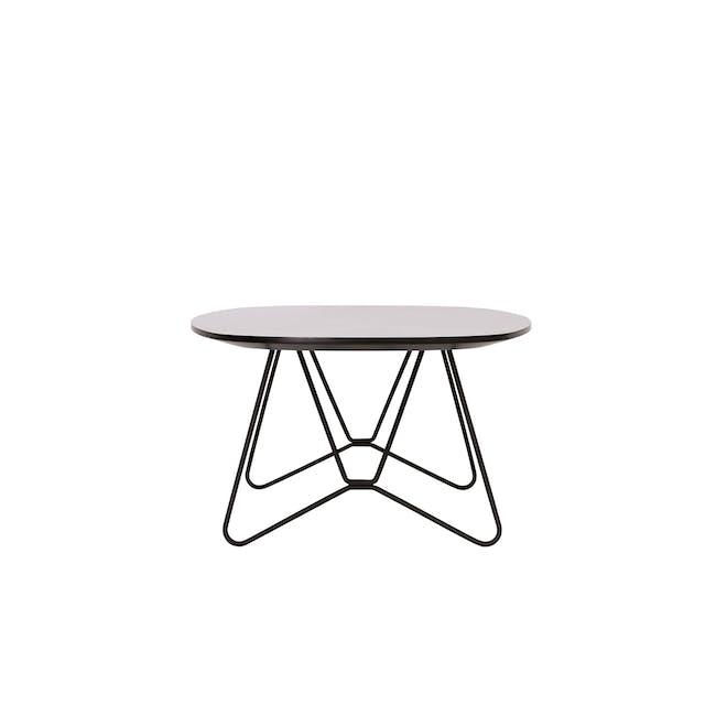 Race Coffee Table - Light Grey - 1