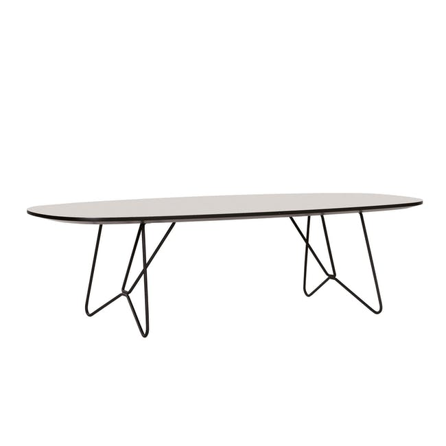Race Coffee Table - Light Grey - 0