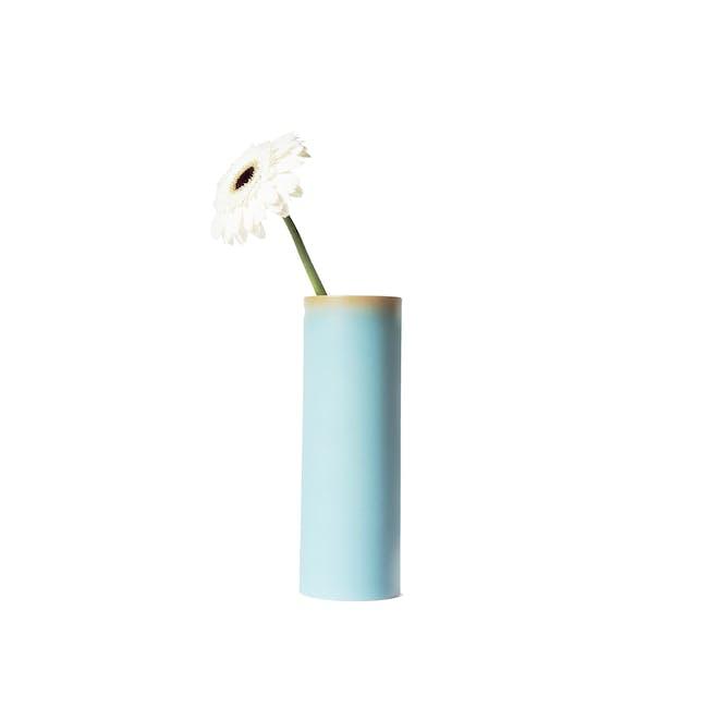 Tubular Tall Vase 23.5 cm - Sky Blue - 0