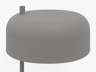 Bridget Table Lamp - Grey - Image 2