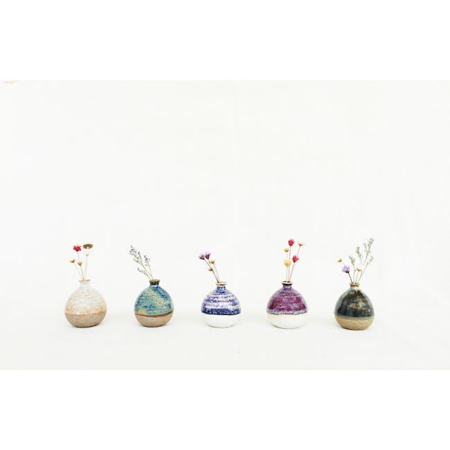 Mini Vase 5 cm - Pastel Green - 4