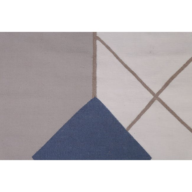 Pave Flatwoven Rug 3m x 2m - Anthracite - 1