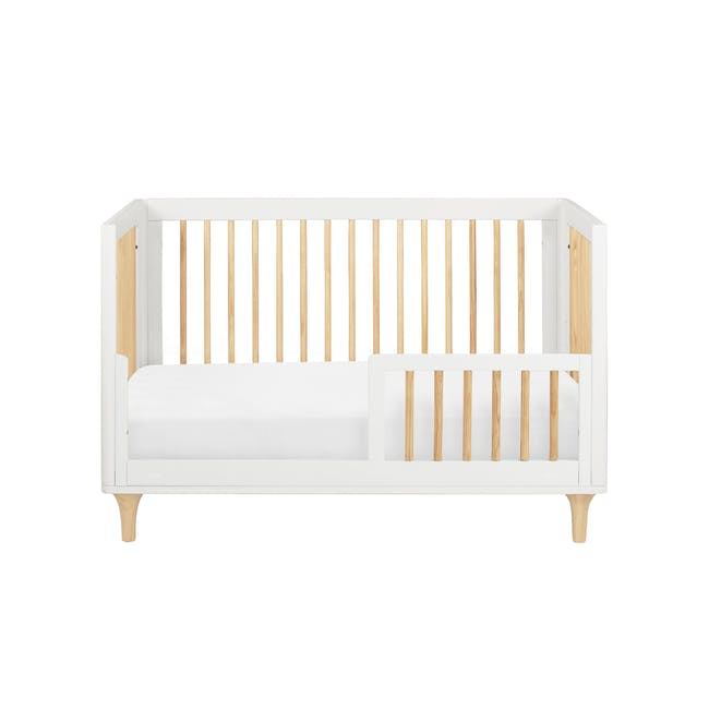 Babyletto Lolly 3-in-1 Convertible Crib - White & Natural - 1