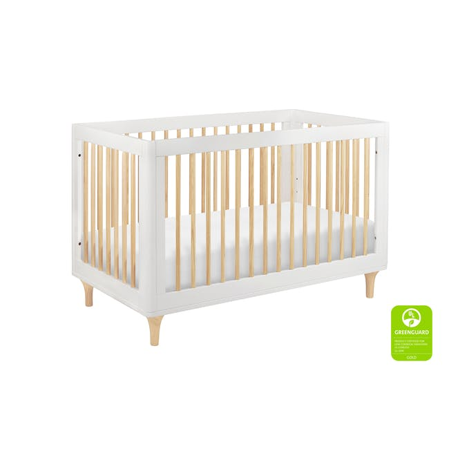 Babyletto Lolly 3-in-1 Convertible Crib - White & Natural - 4