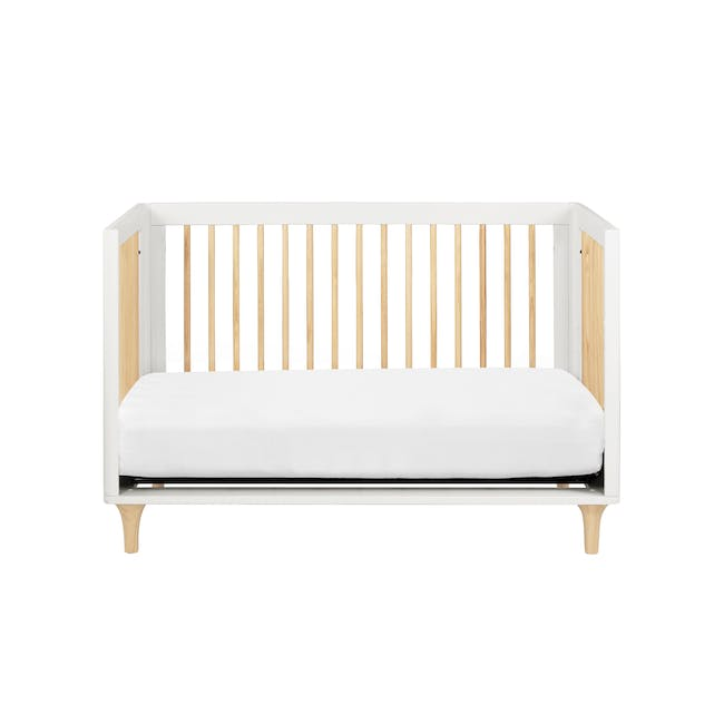 Babyletto Lolly 3-in-1 Convertible Crib - White & Natural - 3