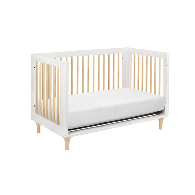 Babyletto Lolly 3-in-1 Convertible Crib - White & Natural - 6