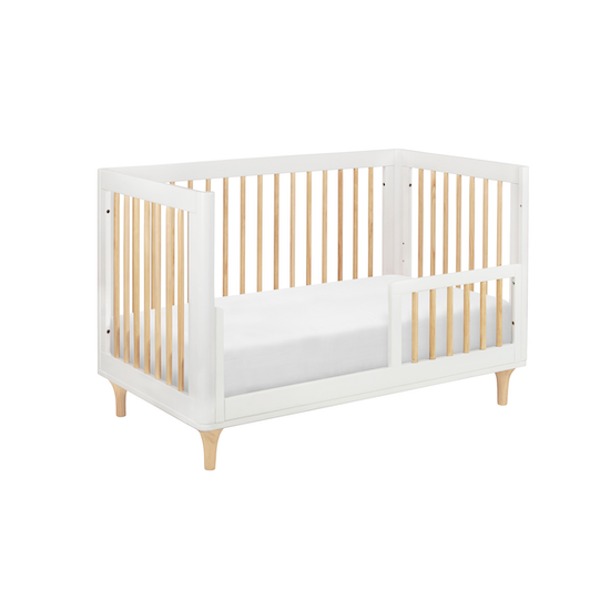 Hatchery Cribs - Babyletto Lolly 3-in-1 Convertible Crib - White & Natural