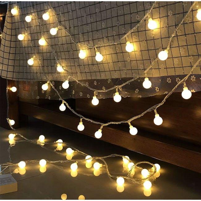Mini Globe String Lights 6m - Warm - 0