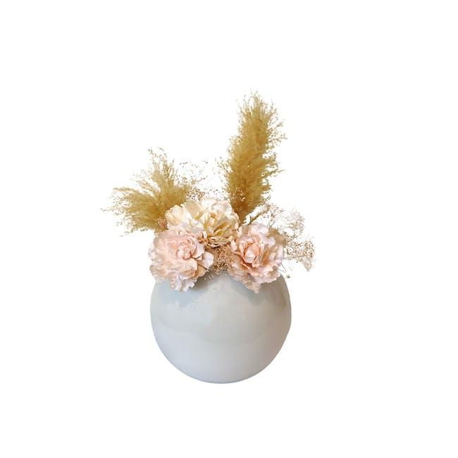 Large Floral Glass Globe - Design 4 - 0