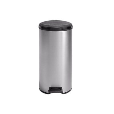 Deco Bin Round - Metallic