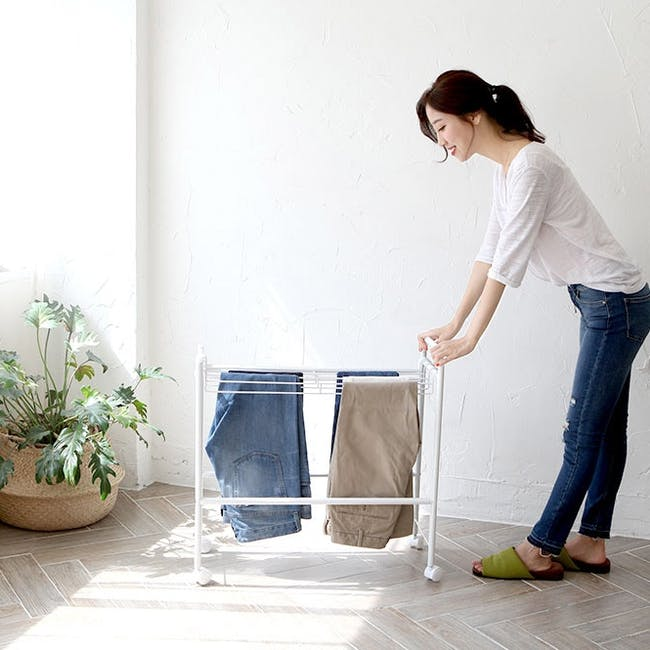 HEIAN Pants Hanger - 10 pairs - 3
