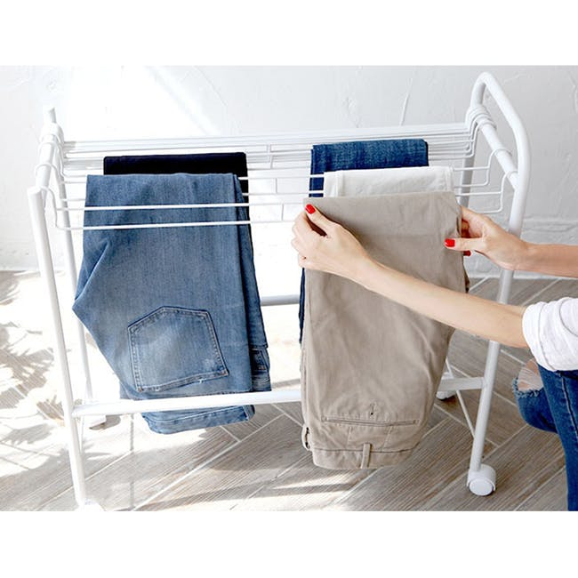 HEIAN Pants Hanger - 10 pairs - 1