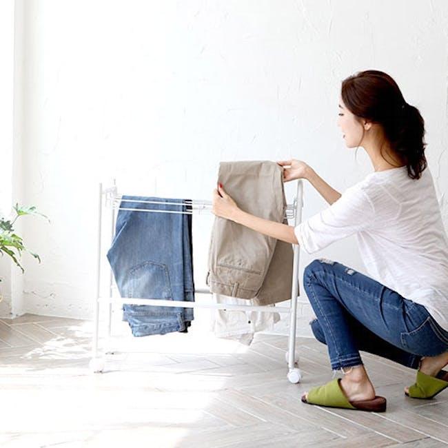 HEIAN Pants Hanger - 10 pairs - 2