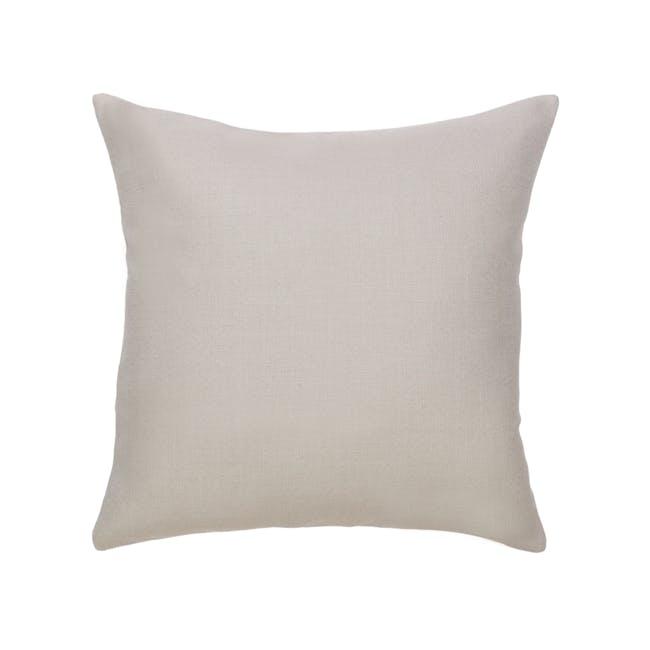 Throw Cushion Cover - Light Grey - 0