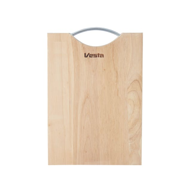 Wooden Cutting & Serving Board - Large - 0