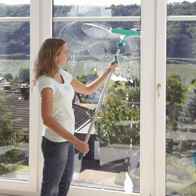 Leifheit Window & Frame Cleaner w/ Telescopic Handle L51120 - 1