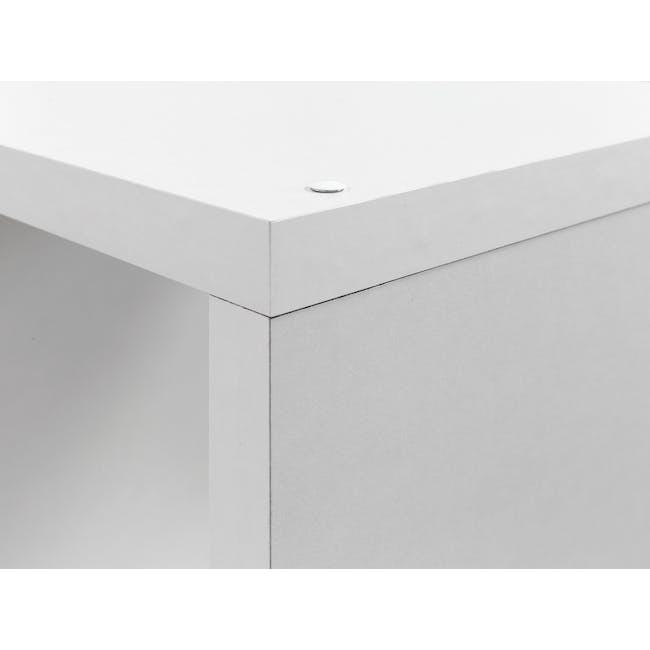 Taina 9 Shelving Unit - White - 1