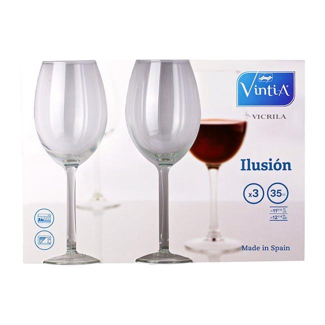 Ilusion Wine Glass (Set of 3) - 4