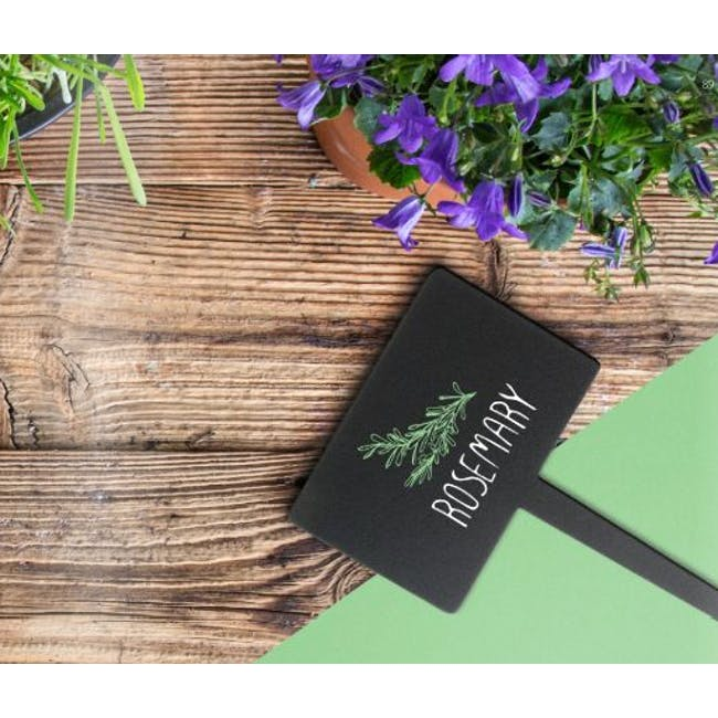 Securit Rectangle Chalkboard Tags (Set Of 5) - 1