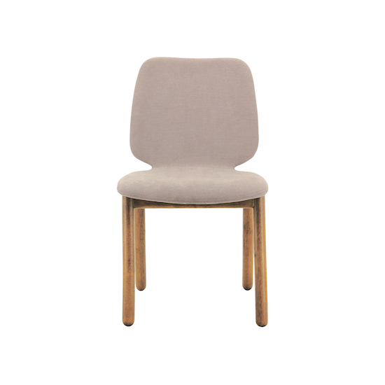 Malmo - Missie Dining Chair - Cocoa, Light Grey