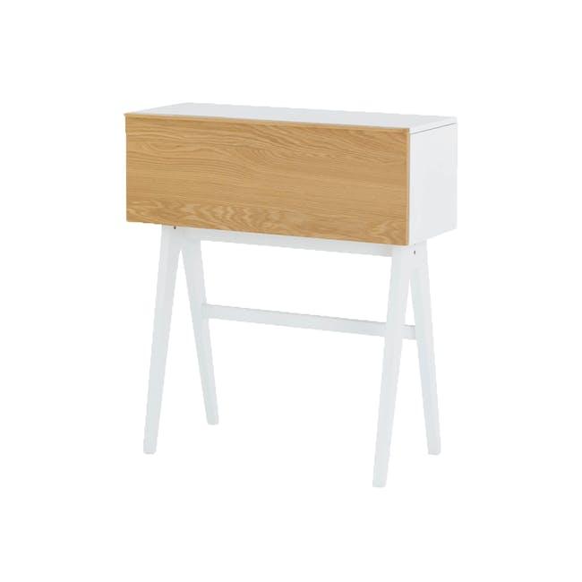 Valen Study Table - White - 0