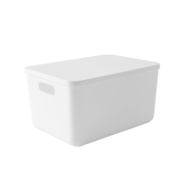 Lussa Storage Box with Lid - Large - 0