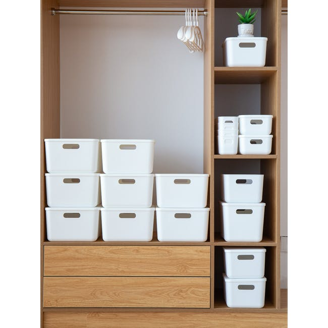 Lussa Storage Box with Lid - Large - 2