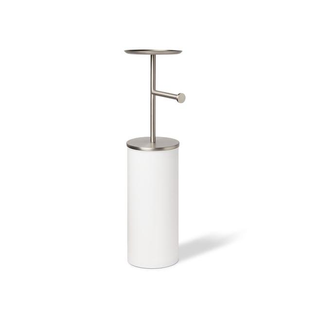 Portaloo Toilet Paper Stand with Storage - White - 2