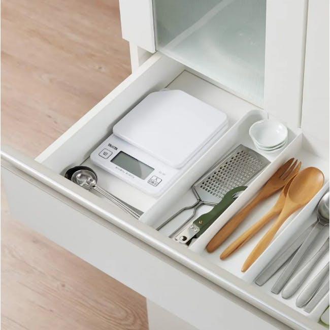 Tanita Digital Kitchen Scale with Hanging Hook - White - 2