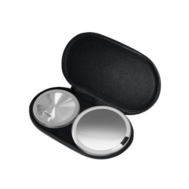 simplehuman Mini Sensor Mirror 5'' Round - Brushed - 2