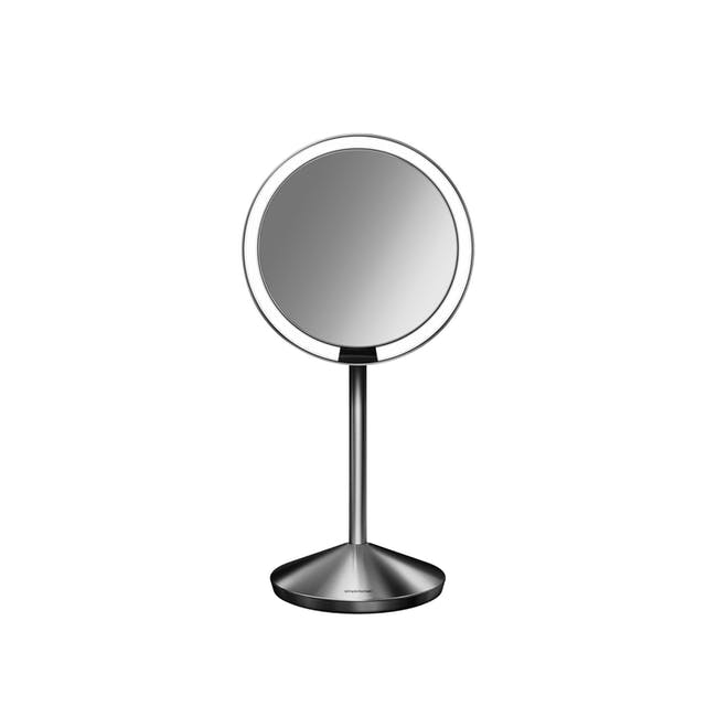 simplehuman Mini Sensor Mirror 5'' Round - Brushed - 0