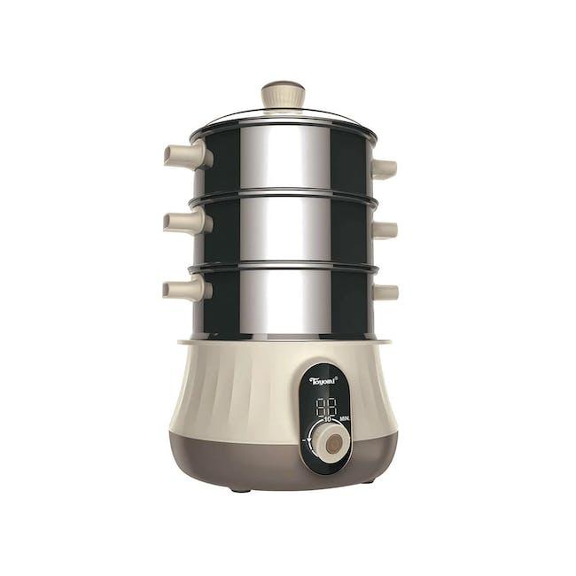 TOYOMI 1.0L Mini Stainless Steel Steamer ST 2018 - 0