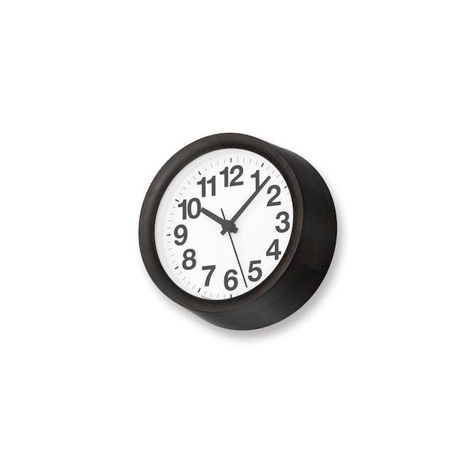 Clock A Small - Black - 1