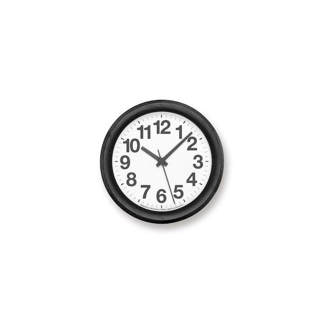 Clock A Small - Black - 0
