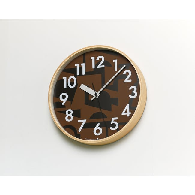 Noyama Clock - Brown - 1