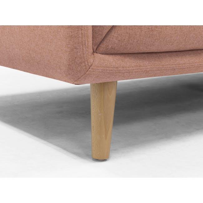 Audrey 3 Seater Sofa - Blush - 7