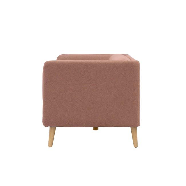 Audrey 3 Seater Sofa - Blush - 2