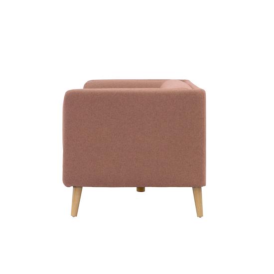 Liyasi - Audrey 3 Seater Sofa - Blush