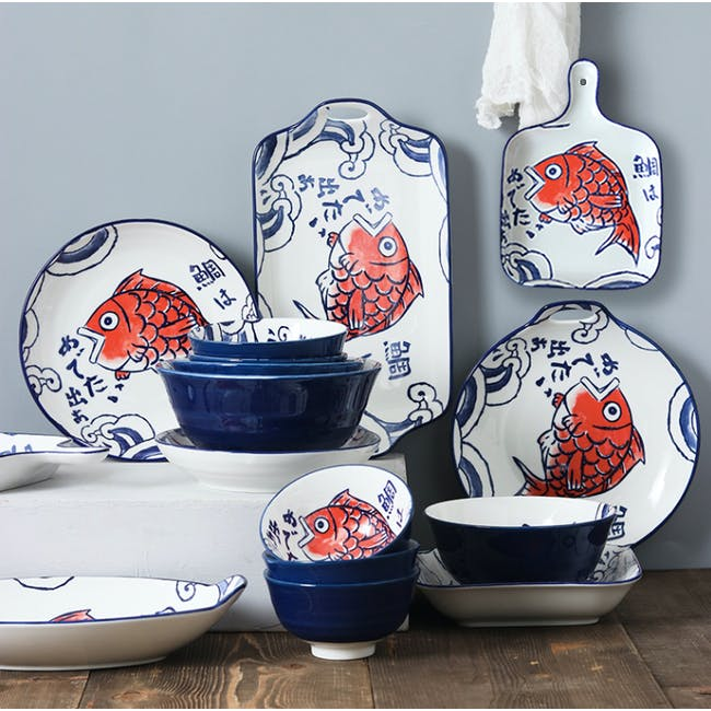 Table Matters Red Tai Bowl (4 Sizes) - 3