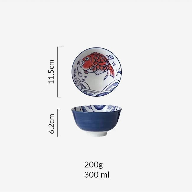Table Matters Red Tai Bowl (4 Sizes) - 4