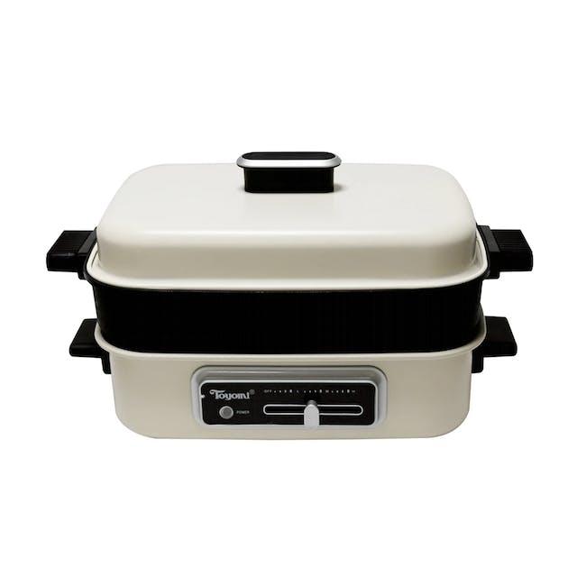 TOYOMI Multi Functional 3-in-1 HotPot + Grill + Steamer MC 8201 - 0