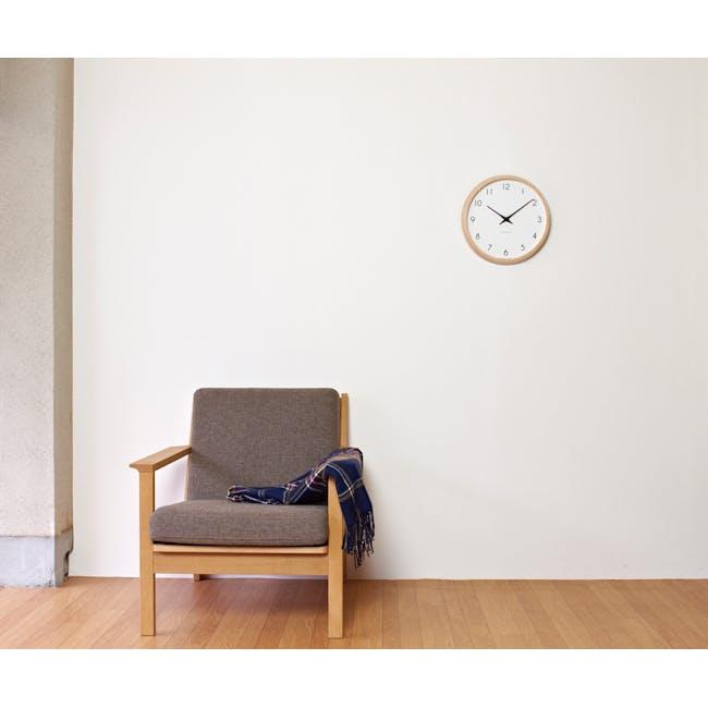 Campagne Clock - Brown - 2